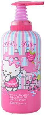EP Line Hello Kitty pena za kopel in gel za prhanje 2v1 za otroke