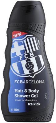 EP Line FC Barcelona Ice Kick šampón a sprchový gél 2 v 1