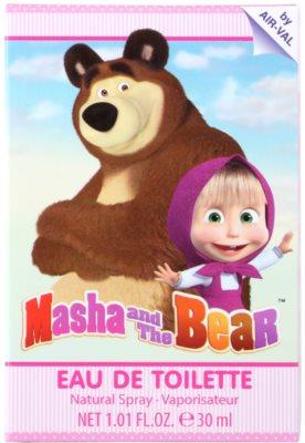 EP Line Masha and The Bear Eau de Toilette pentru copii 1