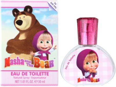 EP Line Masha and The Bear Eau de Toilette pentru copii