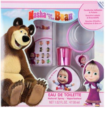 EP Line Masha and The Bear coffret presente