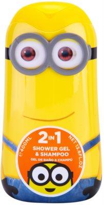 EP Line Minions gel za prhanje in šampon 2v1