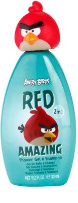 EP Line Angry Birds Red Amazing gel za prhanje in šampon 2v1