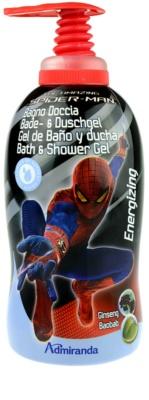 EP Line Spiderman Dusch- und Badgel für Kinder