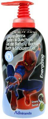 EP Line Spiderman gel de dus si baie pentru copii