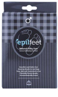 Epilfeet Men skarpetki złuszczające zapewniające wygładzenie i nawilżenie stóp