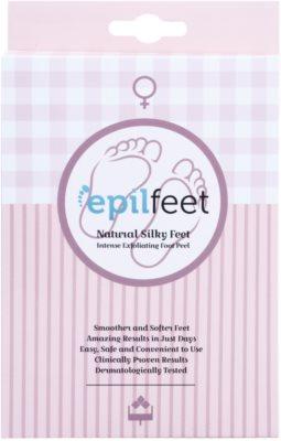 Epilfeet Women exfoliačné ponožky pre zjemnenie a hydratáciu pokožky nôh