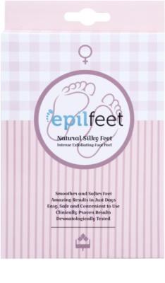 Epilfeet Women meias esfoliante para suavizar e hidratar a pele dos pés
