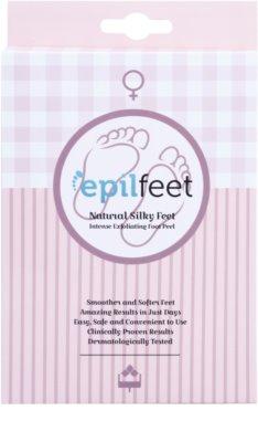 Epilfeet Women шкарпетки для пом'якшення та зволоження шкіри ніг з ефектом ексфоліації