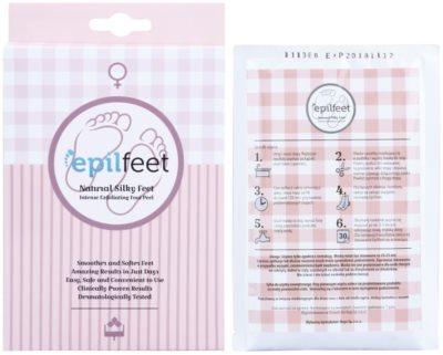 Epilfeet Women bőrhámlasztó zokni a láb bőrének puhítására és hidratálására 2