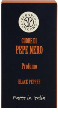 Erbario Toscano Black Pepper parfémovaná voda pro muže 4