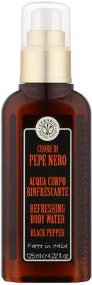 Erbario Toscano Black Pepper Körperspray für Herren