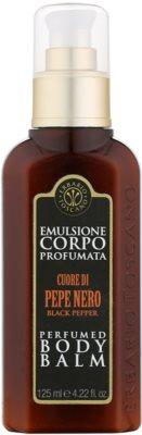 Erbario Toscano Black Pepper Balsam pentru corp pentru barbati