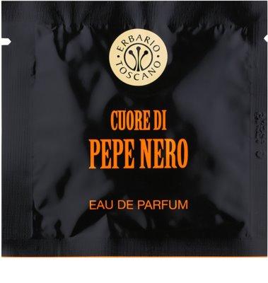 Erbario Toscano Black Pepper perfumowane husteczki dla mężczyzn