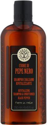 Erbario Toscano Black Pepper sampon pentru barbati