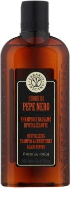 Erbario Toscano Black Pepper Shampoo for Men