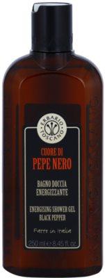 Erbario Toscano Black Pepper енергетичний гель для душа