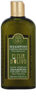 Erbario Toscano Elisir D'Olivo vlasový šampon s olivovým olejem