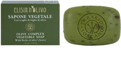 Erbario Toscano Elisir D'Olivo tuhé mýdlo s olivovým olejem 1