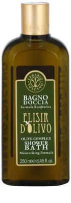 Erbario Toscano Elisir D'Olivo gel de dus si baie cu efect de hidratare