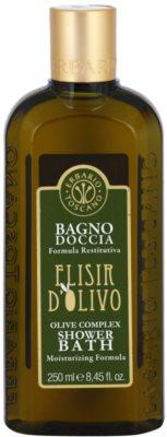Erbario Toscano Elisir D'Olivo tusoló- és fürdőgél hidratáló hatással