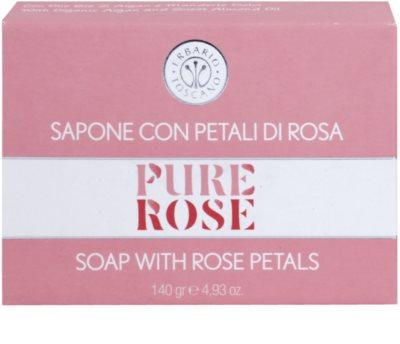 Erbario Toscano Pure Rose 3R BioComplex parfümös szappan 2