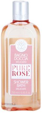 Erbario Toscano Pure Rose 3R BioComplex gyengéd tusoló és fürdő gél