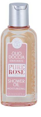 Erbario Toscano Pure Rose 3R BioComplex Duschöl mit feuchtigkeitsspendender Wirkung