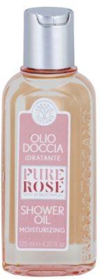 Erbario Toscano Pure Rose 3R BioComplex sprchový olej s hydratačným účinkom