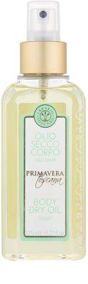 Erbario Toscano Primavera Toscana suchý tělový olej s hydratačním účinkem