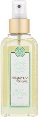 Erbario Toscano Primavera Toscana Trockenöl für den Körper mit feuchtigkeitsspendender Wirkung