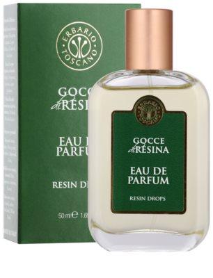 Erbario Toscano Resin Drops parfémovaná voda unisex 1