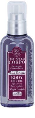Erbario Toscano Royal Grape óleo corporal seco com efeito hidratante