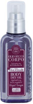 Erbario Toscano Royal Grape Trockenöl für den Körper mit feuchtigkeitsspendender Wirkung