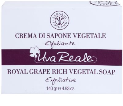 Erbario Toscano Royal Grape Seife mit Peeling-Effekt 2