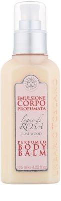 Erbario Toscano Rose Wood telový balzam pre ženy