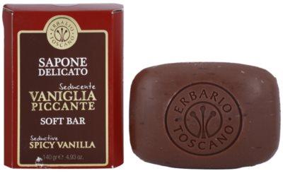 Erbario Toscano Spicy Vanilla sabonete sólido 1
