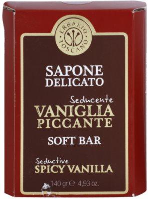Erbario Toscano Spicy Vanilla sabonete sólido 2
