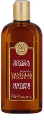 Erbario Toscano Spicy Vanilla sprchový gél a šampón 2 v 1
