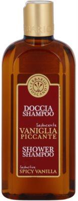 Erbario Toscano Spicy Vanilla tusfürdő gél és sampon 2 in 1