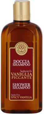 Erbario Toscano Spicy Vanilla żel i szampon pod prysznic 2 w 1