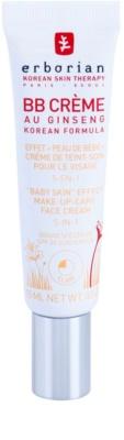 Erborian BB Cream tonizáló krém a bőr tökéletes külalakjáért SPF 20 kis csomagolás