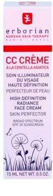 Erborian CC Cream Centella Asiatica posvetlitvena krema za enoten ten kože SPF 25 majhen paket 2
