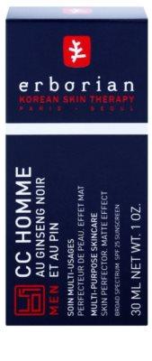Erborian CC Cream Men vlažilna krema za poenotenje kože z matirajočim učinkom SPF 25 2