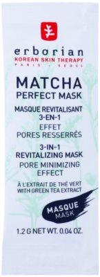 Erborian Detox Matcha Perfect Mask revitalisierende Maske zur Verkleinerung der Poren 3 in1