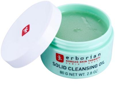 Erborian Detox Solid Cleansing Oil Balsam zum Abschminken und Reinigen 2in1 1