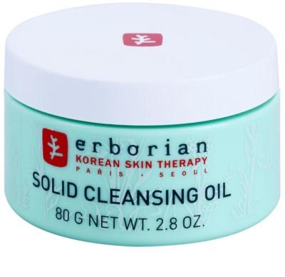 Erborian Detox Solid Cleansing Oil bálsamo limpiador y desmaquillante 2 en 1