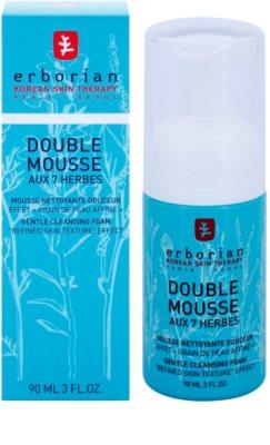 Erborian Detox 7 Herbs demachiant spumant delicat pentru definirea pielii 1
