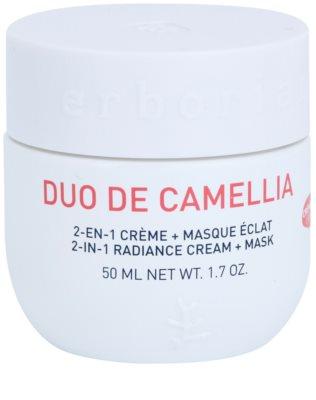 Erborian Cammelia aufhellende Creme und Maske 2in1
