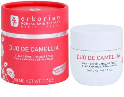 Erborian Cammelia aufhellende Creme und Maske 2in1 1